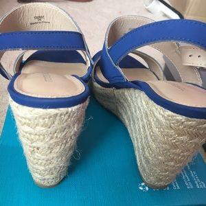 Montego Bay Club Shoes - Royal Blue Wedges